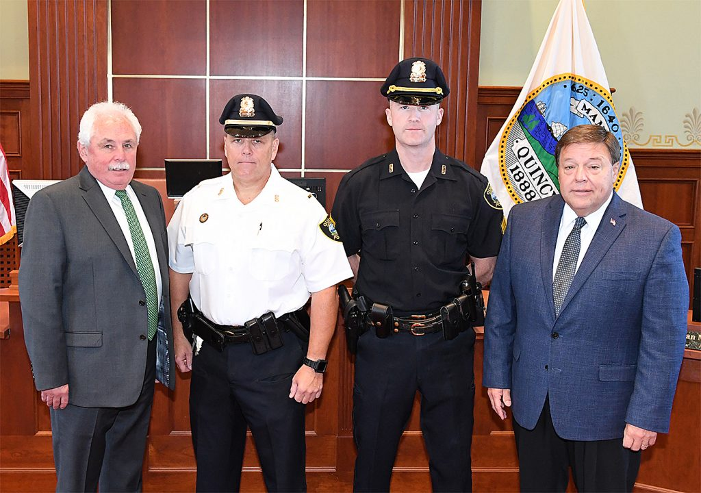 Two Quincy Police Officers Promoted