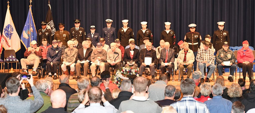 Quincy Salutes World War II Veterans