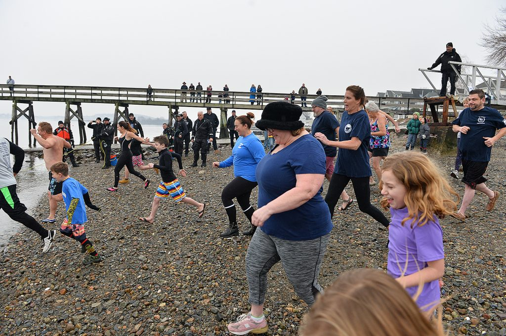 6th Annual 'Polar Plunge' Benefits Atherton Hough School PTO