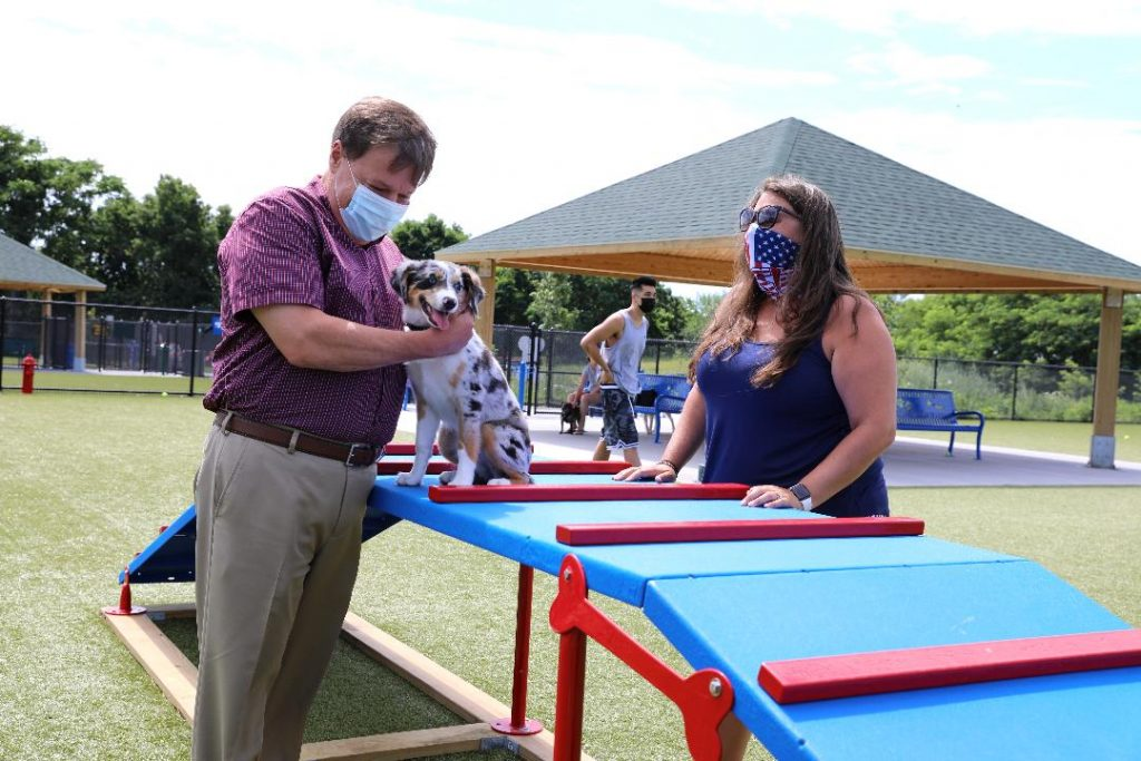 Quincy Dog Park On Quarry Street Opens